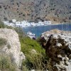 Loutro - ancient bath wall